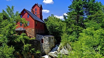 Photograph - Chittenden Mills by Scenic Vermont Photography