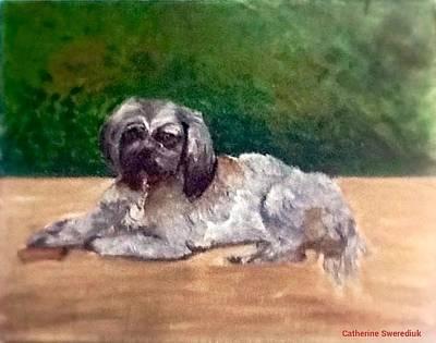 Painting - Chloe by Catherine Swerediuk