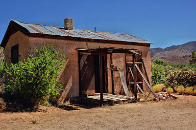 Silver Turquoise Photograph - Chloride Jail by Ben Prepelka