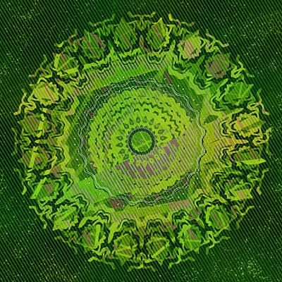 Digital Art - Chlorine Summer Lawn by Joy McKenzie