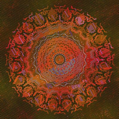 Digital Art - Chlorine Summer Mandala by Joy McKenzie