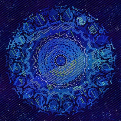 Digital Art - Chlorine Summer Night Sky by Joy McKenzie