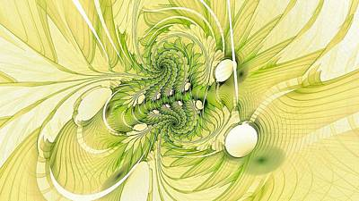 Digital Art - Chloroplast-7 by Doug Morgan