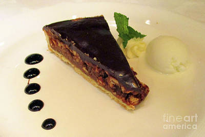 Photograph - Chocoate Pecan Pie by Randall Weidner
