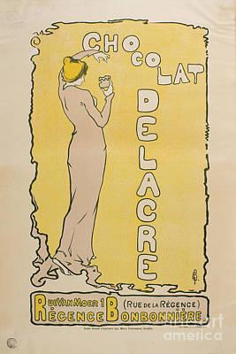 Chocolat Delacre Art Print
