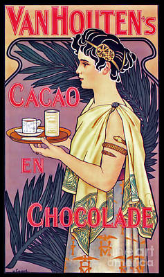 Photograph - Chocolate Ad 1899 by Padre Art