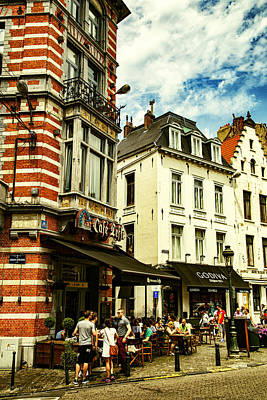 Bruxelles Photograph - Chocolate And Beer In Brussels by Georgia Fowler