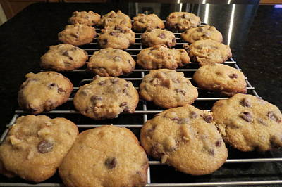 Photograph - Chocolate Chip Cookies by Kay Novy