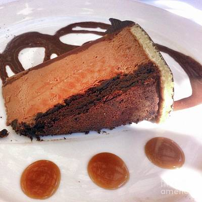 Photograph - Chocolate Decadent Dessert  by Susan Garren