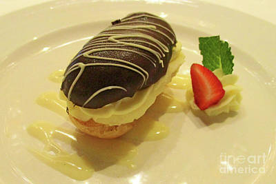 Photograph - Chocolate Eclair by Randall Weidner