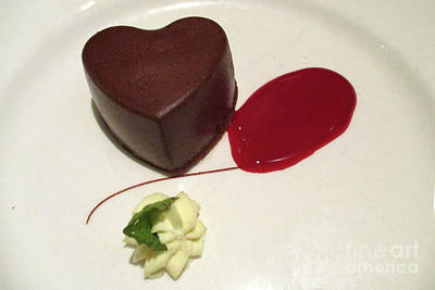Photograph - Chocolate Heart by Randall Weidner