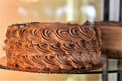 Photograph - Chocolate Icing Cake by Kim Bemis