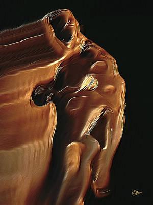 Chocolate Man Art Print by Joaquin Abella