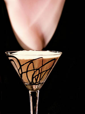 Martini Royalty-Free and Rights-Managed Images - Chocolate Martini by David Kay