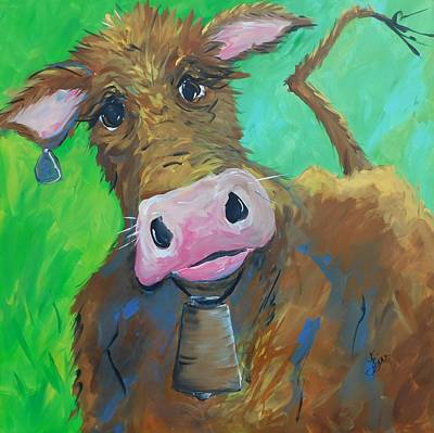 Chocolate Milk Art Print by Terri Einer