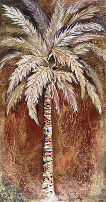 Chocolate Palm Art Print