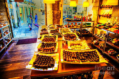 Photograph - Chocolate Shop by Rick Bragan