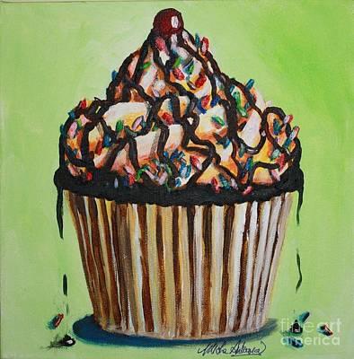 Wilderness Camping - Chocolate Sundae Cupcake by Misha Ambrosia