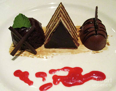 Photograph - Chocolate Trio by Randall Weidner