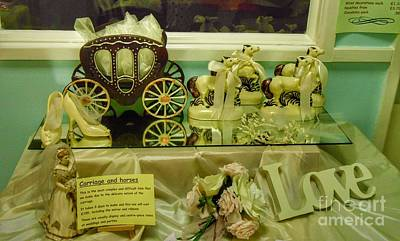 Photograph - Chocolate Wedding Display by Joan-Violet Stretch