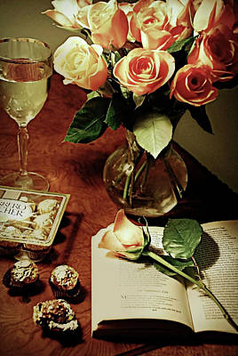 Photograph - Chocolates And Roses by Diana Angstadt