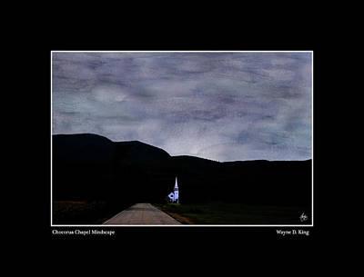 Photograph - Chocorua Chapel Mindscape Poster by Wayne King