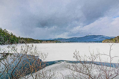 Photograph - Chocorua Winter by Mim White