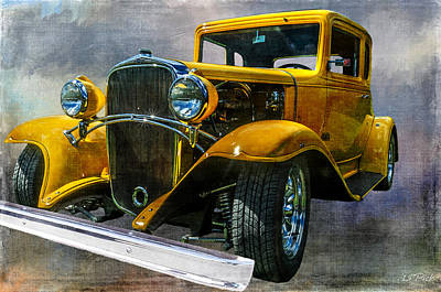 Choice Chevy Art Print by Tom Pickering of Photopicks Photography and Art