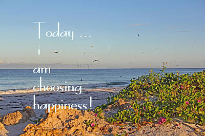 Photograph - Choices - Inspirational by HH Photography of Florida