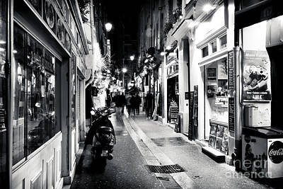 Photograph - Choices In The Latin Quarter by John Rizzuto