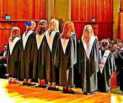 Choir Girls Art Print