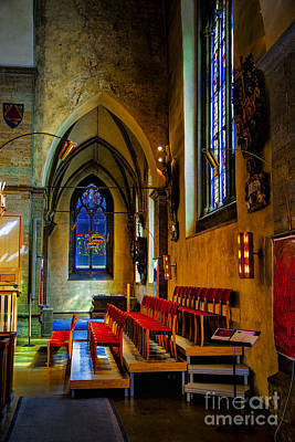 Photograph - Choir Loft Orebro by Rick Bragan