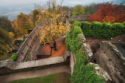 Chojnik Castle In Autumn Art Print by Artur Bogacki
