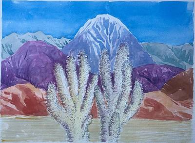 Painting - Cholla Hands by Vaughan Davies