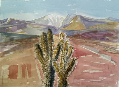 Painting - Cholla Prayer by Vaughan Davies