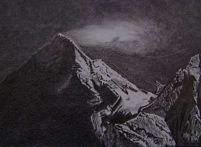 Chomolungma Art Print by Nick Young