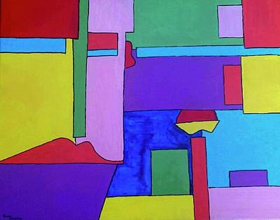 Painting - Choose A Side by Isaac Alcantar