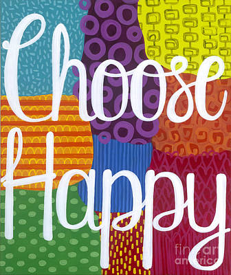 Painting - Choose Happy by Carla Bank