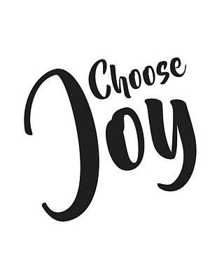 Joy Mixed Media - Choose Joy by Studio Grafiikka