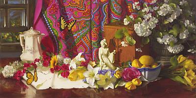 Painting - Choosing Joy by Diane Reeves