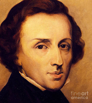Chopin Art Print by Ary Scheffer