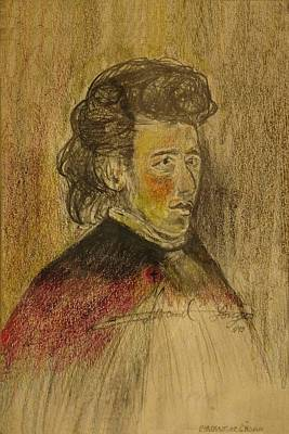 Drawing - Chopin by Edward Longo