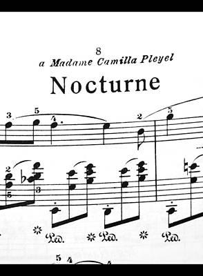 Chopin Nocturne Part 2 Art Print