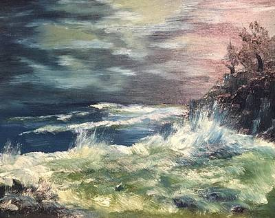Painting - Choppy Seas 1 by David Bartsch