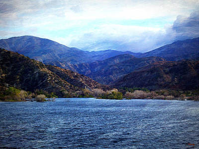 Photograph - Choppy Waters Across The Lake by Glenn McCarthy Art and Photography