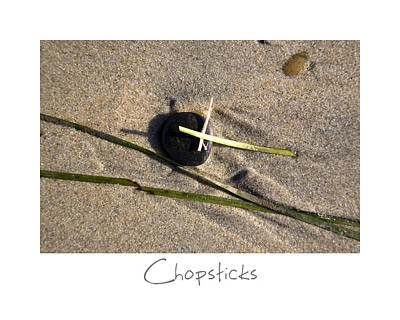 Photograph - Chopsticks by Peter Tellone