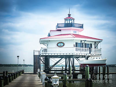 Photograph - Choptank River Lighthouse by Scott and Dixie Wiley