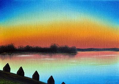 Tim Painting - Choptank Shadows by Tim Webster