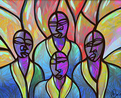 Choir Art Print