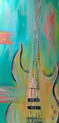 Fish Painting - Chords by Allison's Art